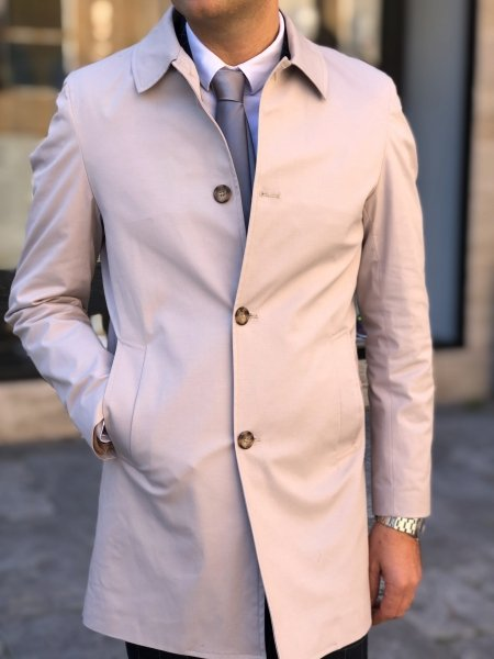 Trench coat - Beige - Gogolfun.it