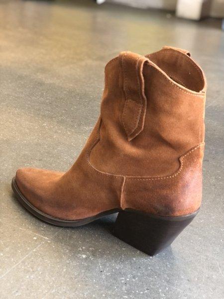 Texani corti - Marroni - Vera pelle - Made in Italy