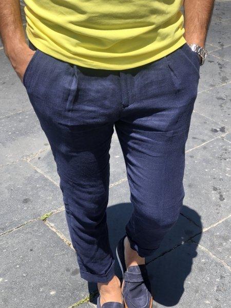 Pantaloni uomo - Blu - Gogolfun.it