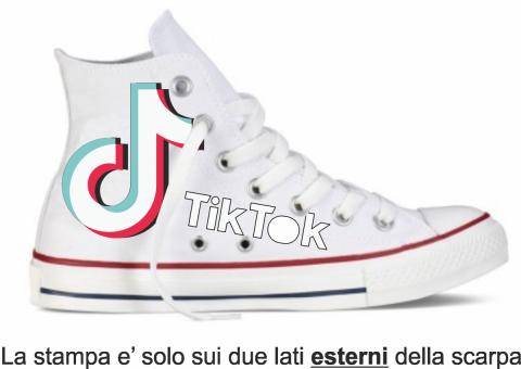 Scarpe personalizzate - Tik Tok - Gogolfun.it
