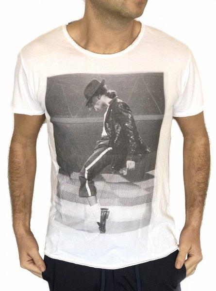 T shirt bianca - Maglietta Jakson - Gogolfun.it