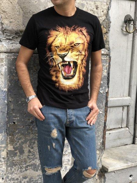 T shirt, nera glow in  the dark - Abbigliamento uomo gogolfun.it