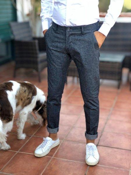 Pantalone -Misto Cotone - Uomo - Gogolfun.it