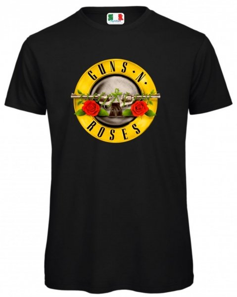 T shirt - Gun's and Roses - Negozio di t-shirt Gogolfun.it