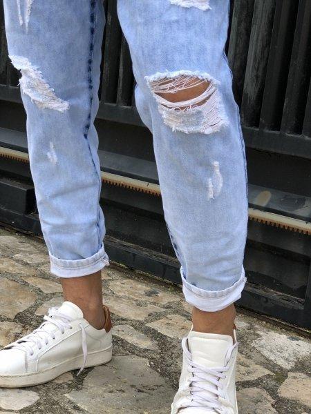 Jeans uomo, over - Jeans Boyfit