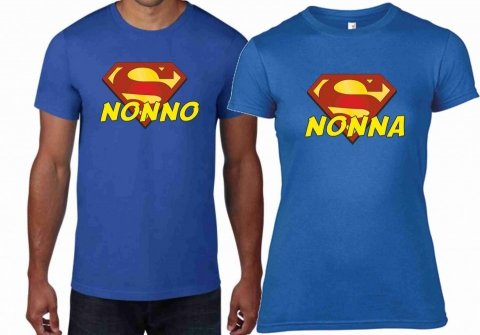 T shirt nonno, nonna - Mezza Manica - T-shirt Gogolfun.it