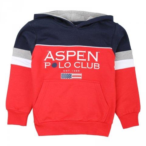 Felpa con cappuccio -  Aspen polo