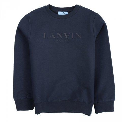 Felpa nera bambino - Lanvin - Abbigliamento bambini - Gogolfun.it