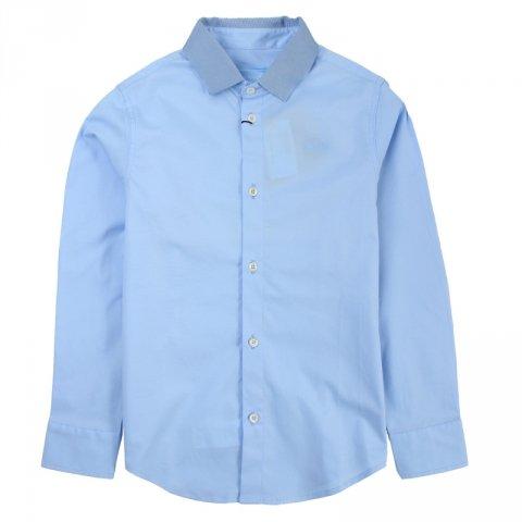 Camicia azzurra, bambino - Lanvin - Abbigliamento bambini - Gogolfun.it