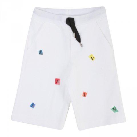 Pantaloncini bianchi fantasy, bambino - Lanvin - Abbigliamento bambini - Gogolfun.it