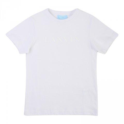Maglietta bianca, bambino - Lanvin - Abbigliamento bambini - Gogolfun.it