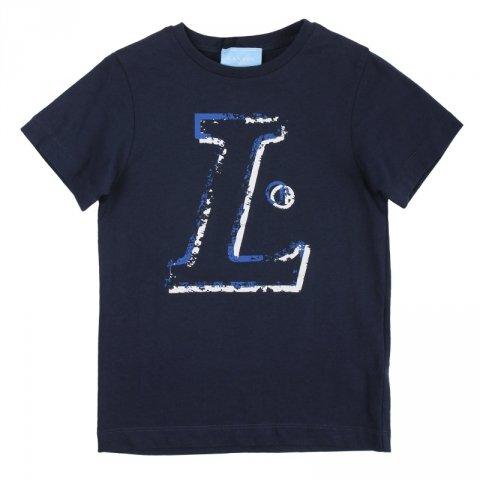 Maglietta nera, bambino - Lanvin - Abbigliamento bambini - Gogolfun.it