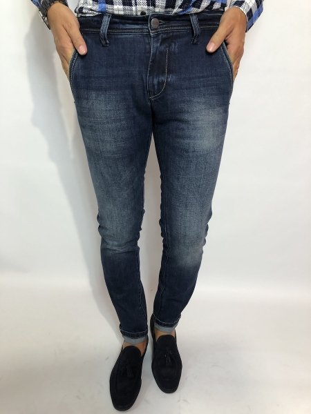 Jeans uomo, key jey modello chino - Gogolfun.it