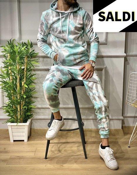 Tuta sportiva - Tuta uomo -Tute colorate - Tuta da passeggio - Spertwear - Abbigliamento online gogolfun.it