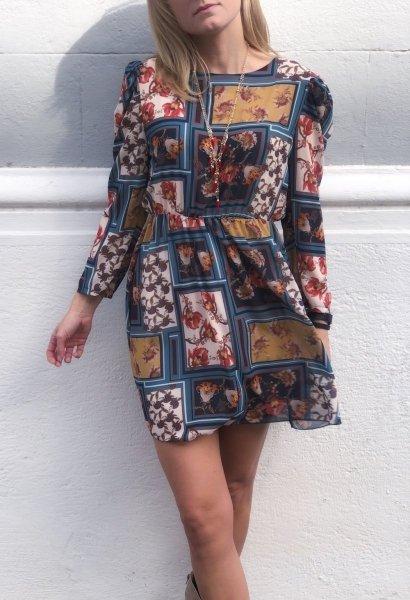 Vestito donna, corto - Vestito donna fantasia - Vestiti corti - Negozio di abbigliamento gogolfun.it