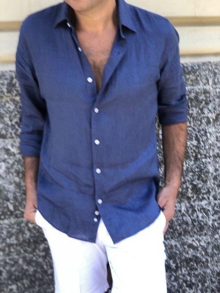 Camicie di lino - Negozio di abbigliamento gogolfun.it