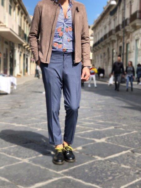Paul Miranda - Pantaloni uomo - Slim fit - Blu