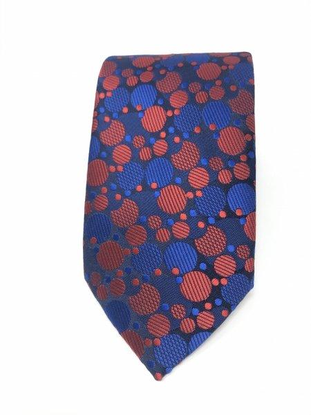 Cravatta rossa e blu - Particolare - Gogolfun.it