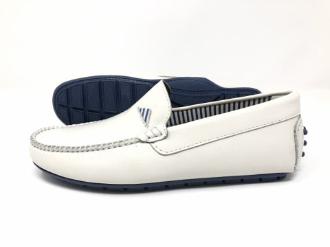Mocassini bianchi - Uomo - Negozio di scarpe uomo Gogolfun.it