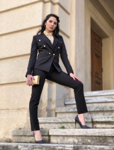 Tailleur, nero - Giovanile - Con pantaloni