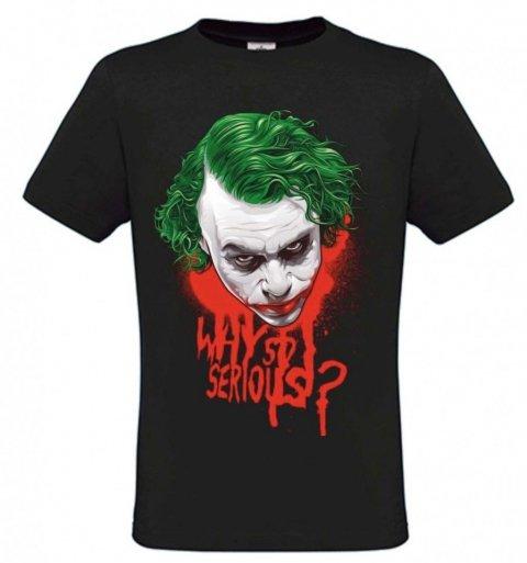 Maglietta uomo - Joker - Negozio di t-shirt gogolfun.it