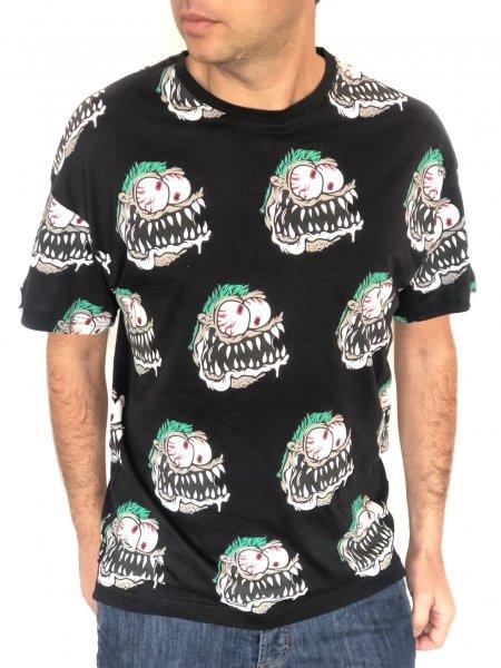 T shirt uomo -  Maglietta Nera - Gogolfun.it