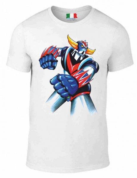 T shirt Goldrake - Bianca - Vintage - Gogolfun.it