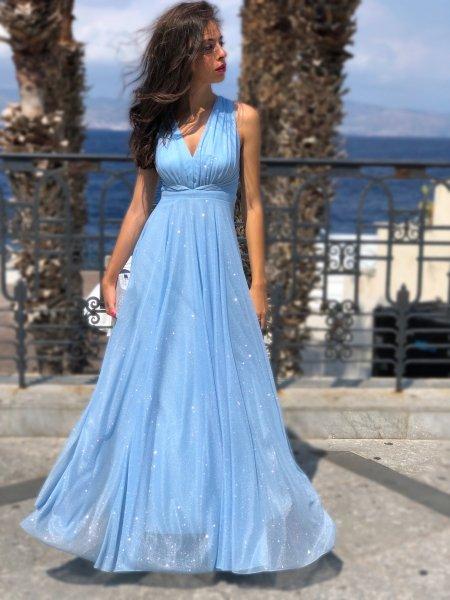 Vestito lungo elegante - Vestiti donna - Gogolfun..it