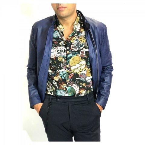 Camicia uomo, collo coreano - Camicie uomo -  Negozio gogolfun.it