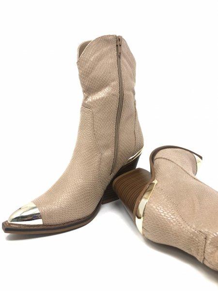 Stivali texani, beige chiaro