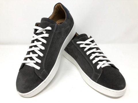 Sneakers grigie, scamosciate - Scarpe uomo gogolfun.it