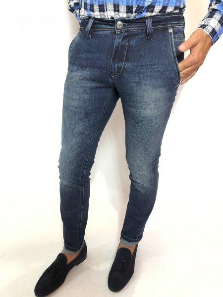 Jeans uomo, modello chino - Key Jey - Gogolfun.it