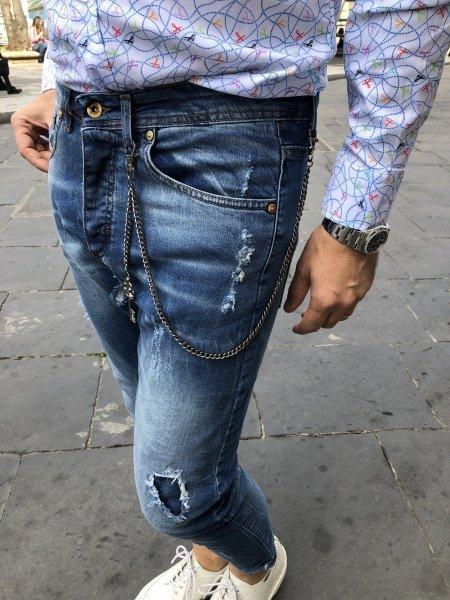 Jeans uomo strappati - Negozio di abbigliamento Reggio Calabria - Gogolfun.it