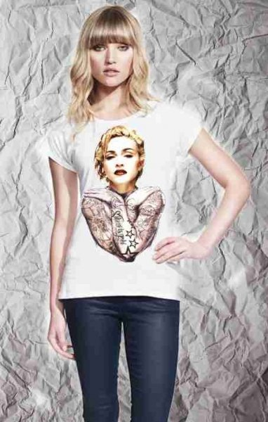T shirt -Madonna - Gogolfun.it