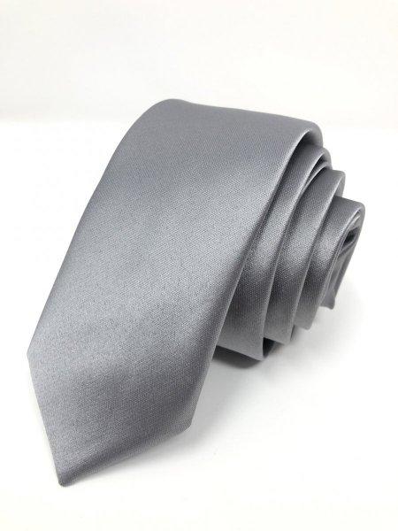 Cravattino grigio - Raso - Gogolfun.it