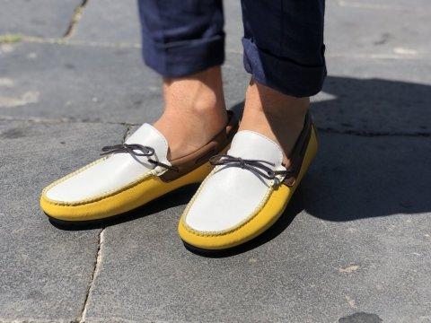 Scarpe con laccetti - In pelle - Negozio di scarpe Gogolfun.it