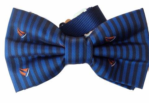 Farfallino  uomo blu - Papillon cn barchette - Online - Gogolfun.it