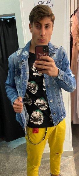 Giubbotto di jeans - Queen - Denim - Negozio di abbigliamento - Gogolfun.it