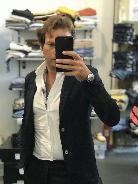 Blazer blu - Abbigliamento uomo gogolfun.it