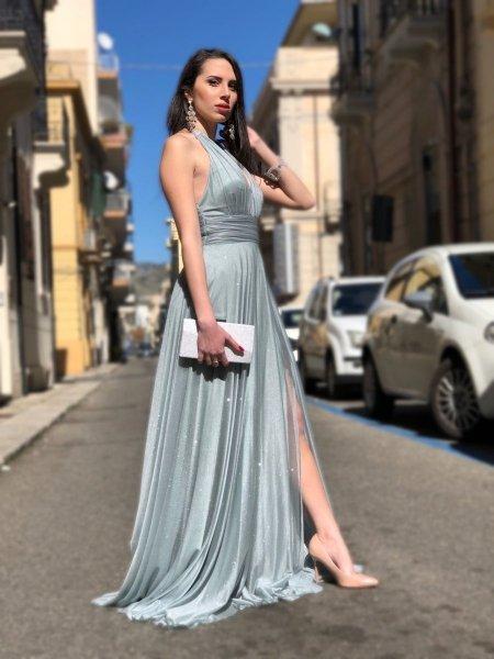 Elegancka sukienka  wieczorowa - Tiffany  - Suknie wieczorowe - Gogolfun.pl