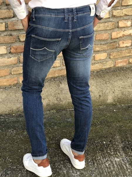 Jeans uomo - chino - Key Jey
