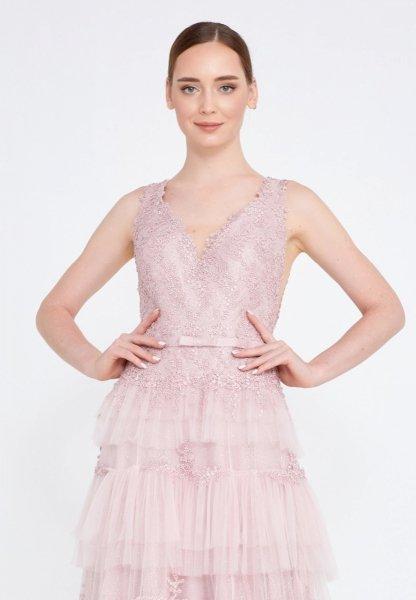Vestito da cerimonia - Rosa - Principessa - Diciottesimo compleanno - Vestiti rosa - Gogolfun.it