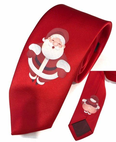Cravatta con babbo natale - Regali di Natale - Gogolfun.it