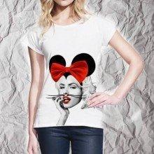 T shirt donna - Miky Marilyn - Gogolfun.it