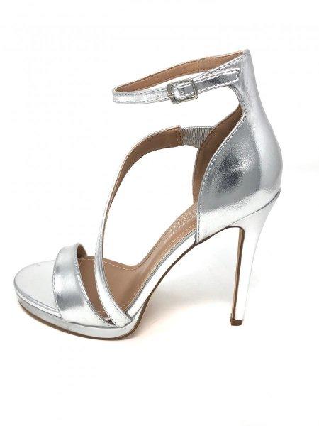 Scarpe eleganti donna d cerimonia - Argento - Gogolfun.it