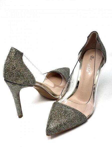 Buty na wysokim obcasie - Eleganckie - Ròżowe