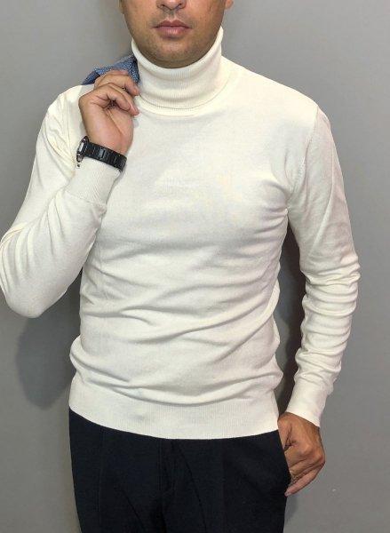 Dolcevita uomo, bianco - Gogolfun.it