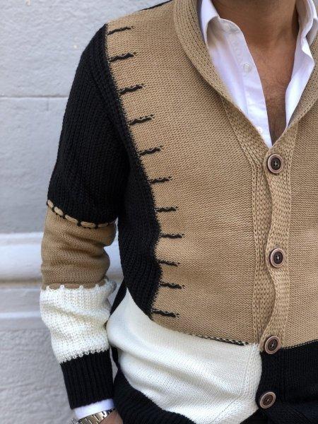 Cardigan uomo con bottoni - Cardigan uomo - Maglioni uomo - Abbigliamento online gogolfun.it