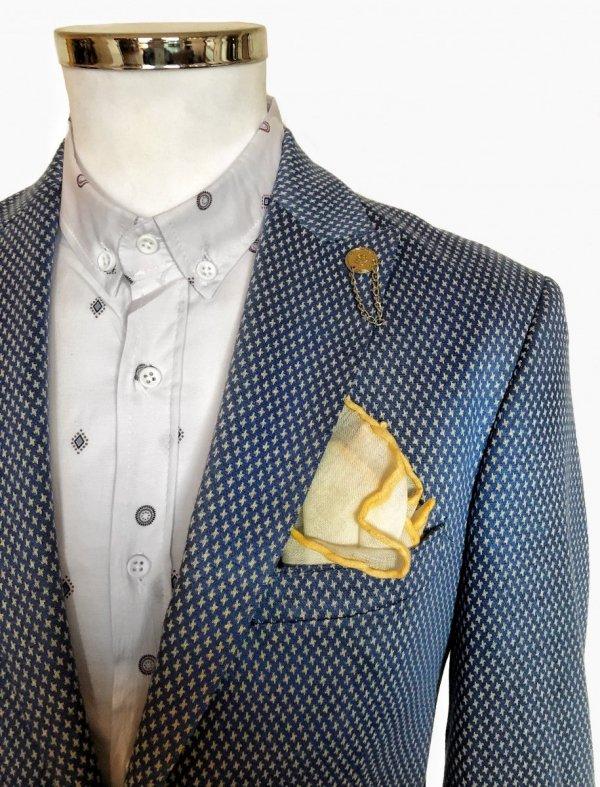 Giacca azzurra - Abbigliamento uomo - Shop Gogolfun.it