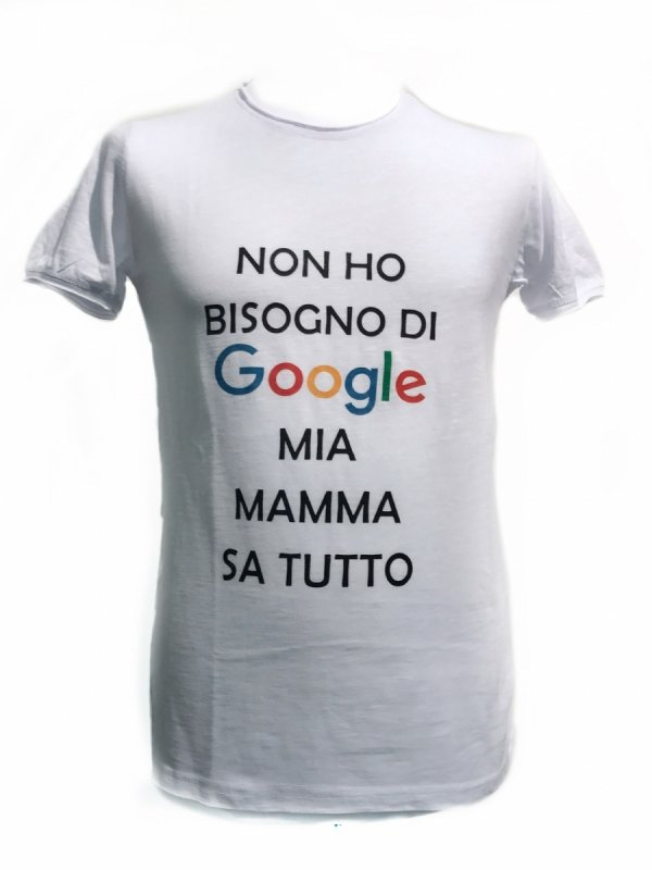 T-shirt puro cotone - Mamma - Gogolfun.it
